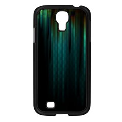 Lines Light Shadow Vertical Aurora Samsung Galaxy S4 I9500/ I9505 Case (black) by Mariart