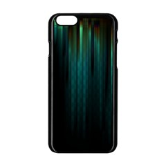 Lines Light Shadow Vertical Aurora Apple Iphone 6/6s Black Enamel Case by Mariart