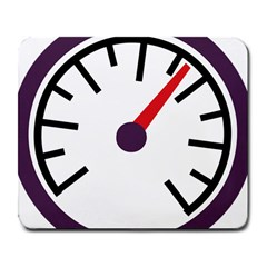 Maker Measurer Hours Time Speedometer Large Mousepads by Mariart
