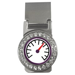 Maker Measurer Hours Time Speedometer Money Clips (cz)