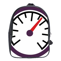 Maker Measurer Hours Time Speedometer School Bags(large)