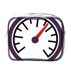 Maker Measurer Hours Time Speedometer Mini Toiletries Bags by Mariart