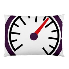 Maker Measurer Hours Time Speedometer Pillow Case (two Sides) by Mariart