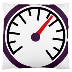 Maker Measurer Hours Time Speedometer Large Cushion Case (two Sides) by Mariart