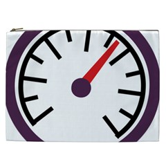 Maker Measurer Hours Time Speedometer Cosmetic Bag (xxl)  by Mariart