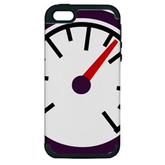 Maker Measurer Hours Time Speedometer Apple Iphone 5 Hardshell Case (pc+silicone) by Mariart