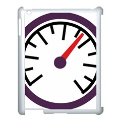 Maker Measurer Hours Time Speedometer Apple Ipad 3/4 Case (white) by Mariart