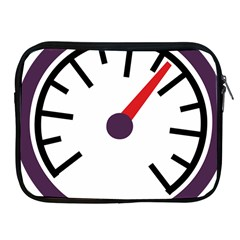 Maker Measurer Hours Time Speedometer Apple Ipad 2/3/4 Zipper Cases by Mariart
