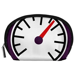 Maker Measurer Hours Time Speedometer Accessory Pouches (large)  by Mariart
