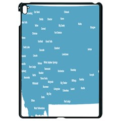 Peta Anggota City Blue Eropa Apple Ipad Pro 9 7   Black Seamless Case by Mariart