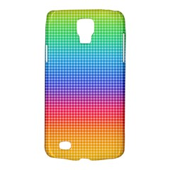 Plaid Rainbow Retina Green Purple Red Yellow Galaxy S4 Active by Mariart