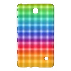 Plaid Rainbow Retina Green Purple Red Yellow Samsung Galaxy Tab 4 (7 ) Hardshell Case  by Mariart