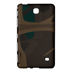 Tree Jungle Brown Green Samsung Galaxy Tab 4 (8 ) Hardshell Case  by Mariart