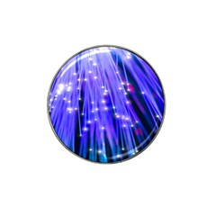 Neon Light Line Vertical Blue Hat Clip Ball Marker (10 Pack) by Mariart