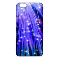 Neon Light Line Vertical Blue Iphone 6 Plus/6s Plus Tpu Case by Mariart