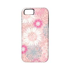 Scrapbook Paper Iridoby Flower Floral Sunflower Rose Apple Iphone 5 Classic Hardshell Case (pc+silicone) by Mariart