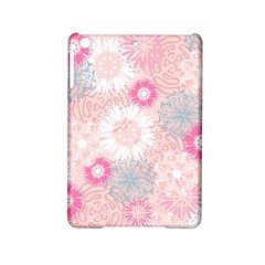 Scrapbook Paper Iridoby Flower Floral Sunflower Rose Ipad Mini 2 Hardshell Cases by Mariart