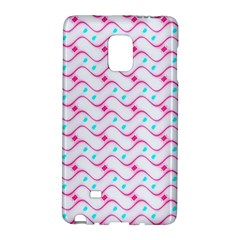 Squiggle Red Blue Milk Glass Waves Chevron Wave Pink Galaxy Note Edge by Mariart