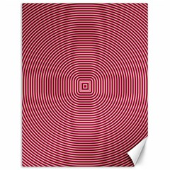 Stop Already Hipnotic Red Circle Canvas 12  X 16   by Mariart