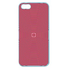 Stop Already Hipnotic Red Circle Apple Seamless Iphone 5 Case (color)