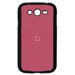 Stop Already Hipnotic Red Circle Samsung Galaxy Grand DUOS I9082 Case (Black) Front