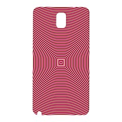 Stop Already Hipnotic Red Circle Samsung Galaxy Note 3 N9005 Hardshell Back Case by Mariart