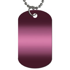 Decorative Pattern Dog Tag (one Side) by ValentinaDesign