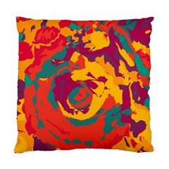 Abstract Art Standard Cushion Case (two Sides) by ValentinaDesign
