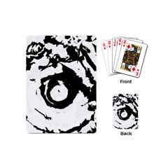 Abstract Art Playing Cards (mini)  by ValentinaDesign