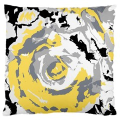 Abstract Art Large Cushion Case (two Sides) by ValentinaDesign