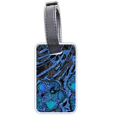 Unique Abstract Mix 1b Luggage Tags (one Side)  by MoreColorsinLife