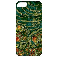 Unique Abstract Mix 1c Apple Iphone 5 Classic Hardshell Case by MoreColorsinLife