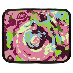 Abstract Art Netbook Case (xl)  by ValentinaDesign