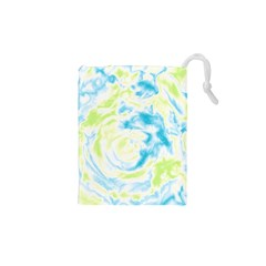 Abstract Art Drawstring Pouches (xs)  by ValentinaDesign