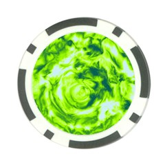 Abstract Art Poker Chip Card Guard