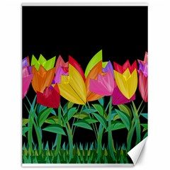 Tulips Canvas 12  X 16   by ValentinaDesign