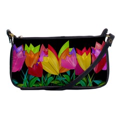 Tulips Shoulder Clutch Bags by ValentinaDesign