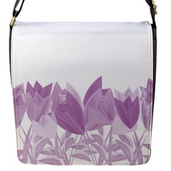 Tulips Flap Messenger Bag (s) by ValentinaDesign