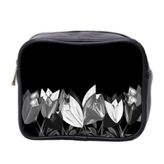 Tulips Mini Toiletries Bag 2 Side by ValentinaDesign
