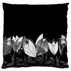 Tulips Standard Flano Cushion Case (one Side) by ValentinaDesign