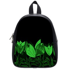 Tulips School Bags (small)  by ValentinaDesign