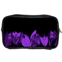 Tulips Toiletries Bags by ValentinaDesign