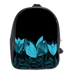 Tulips School Bags(large)  by ValentinaDesign