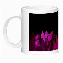 Tulips Night Luminous Mugs by ValentinaDesign