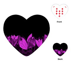 Tulips Playing Cards (heart)  by ValentinaDesign