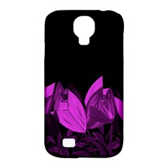 Tulips Samsung Galaxy S4 Classic Hardshell Case (pc+silicone) by ValentinaDesign