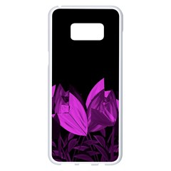 Tulips Samsung Galaxy S8 Plus White Seamless Case by ValentinaDesign