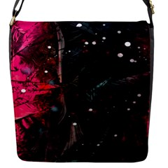 Abstract Design Flap Messenger Bag (s) by ValentinaDesign
