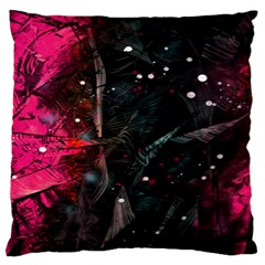 Abstract Design Large Flano Cushion Case (one Side) by ValentinaDesign