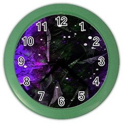Abstract Design Color Wall Clocks by ValentinaDesign